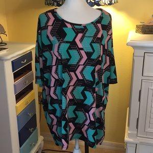 LuLaRoe Long Top 3/4 Sleeve Size XL Never Worn